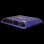 blau lila farbener flacher Signalgeber